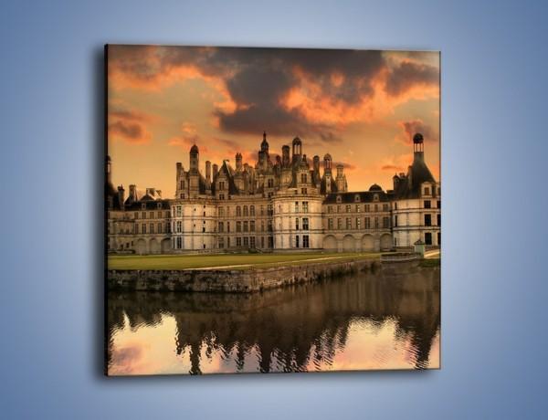 Obraz na płótnie – Stary zamek – jednoczęściowy kwadratowy AM200