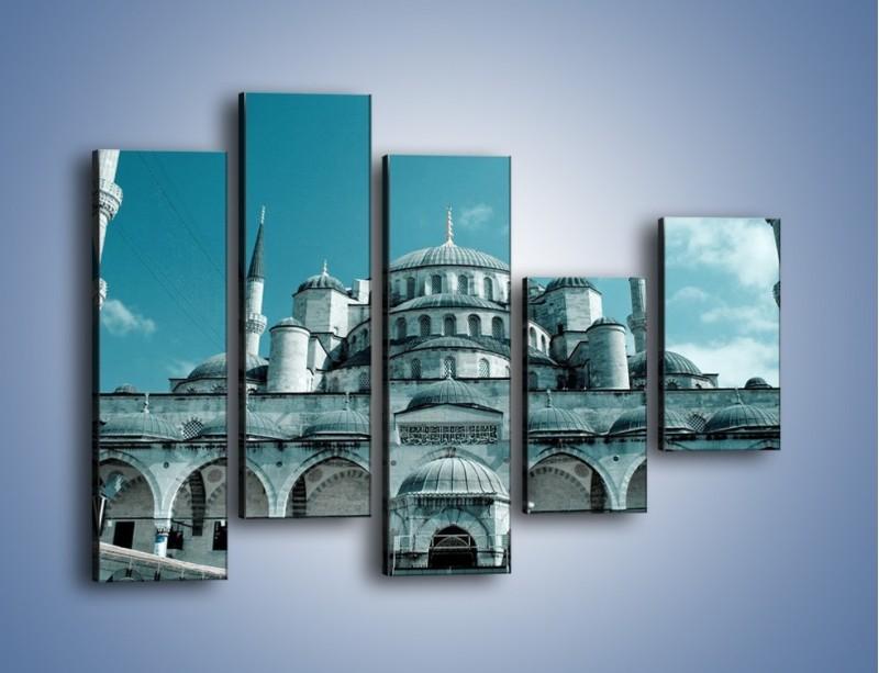 Obraz na płótnie – Taj Mahal – pięcioczęściowy AM175W4
