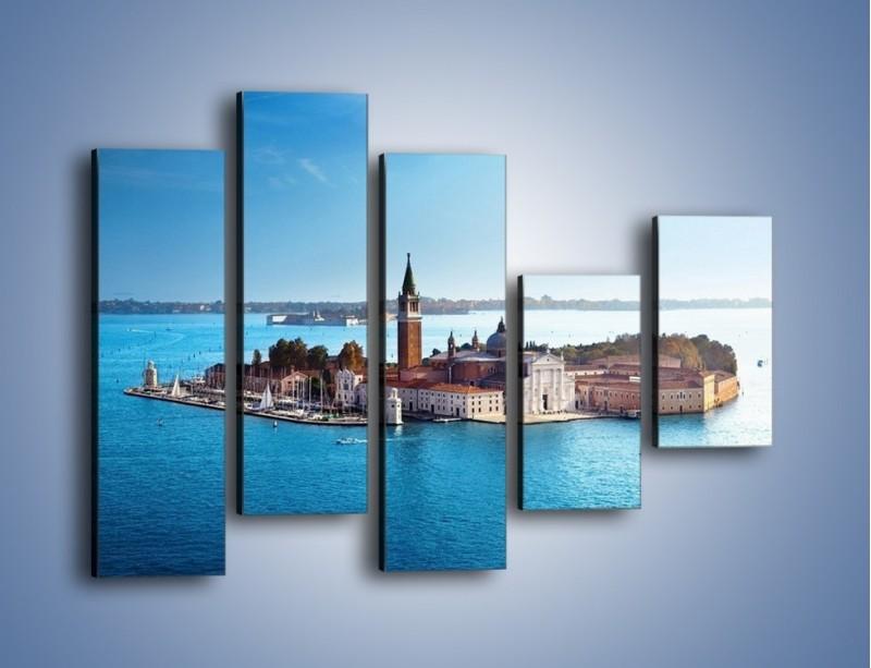 Obraz na płótnie – Wyspa San Giorgio Maggiore – pięcioczęściowy AM380W4