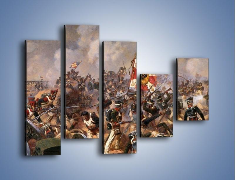 Obraz na płótnie – Wojna i jej skutki – pięcioczęściowy GR133W4