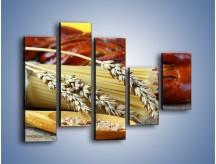 Obraz na płótnie – Chleb pszenno-kukurydziany – pięcioczęściowy JN090W4