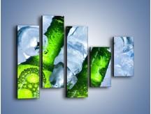 Obraz na płótnie – Czas na zimne piwko – pięcioczęściowy JN148W4