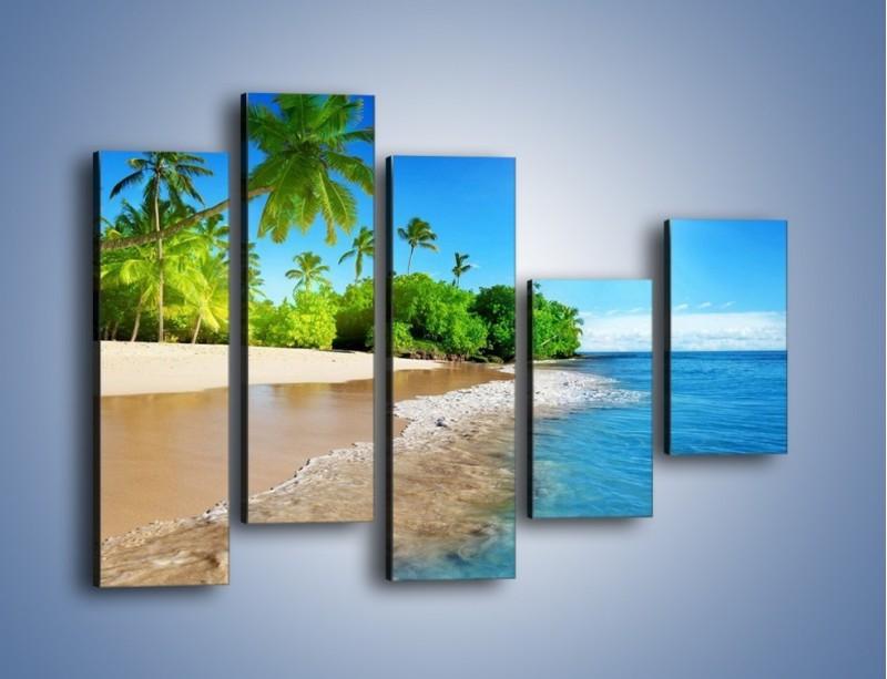 Obraz na płótnie – Bajeczne wakacyjne wspomnienia – pięcioczęściowy KN1110AW4