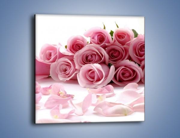 Obraz na płótnie – Nadal piękne róże  – jednoczęściowy kwadratowy K167