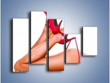 Obraz na płótnie – Bardzo kobiece dodatki – pięcioczęściowy L162W4