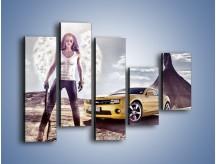 Obraz na płótnie – Chevrolet Camaro – pięcioczęściowy TM079W4