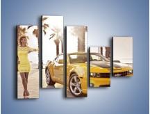 Obraz na płótnie – Chevrolet Camaro Coupe Europe – pięcioczęściowy TM083W4