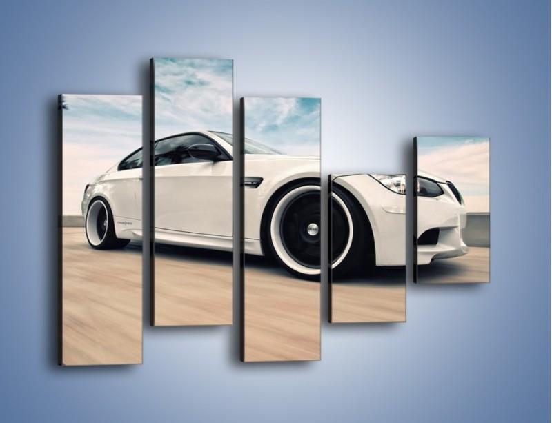 Obraz na płótnie – BMW M3 Strasse Forged Wheels – pięcioczęściowy TM094W4