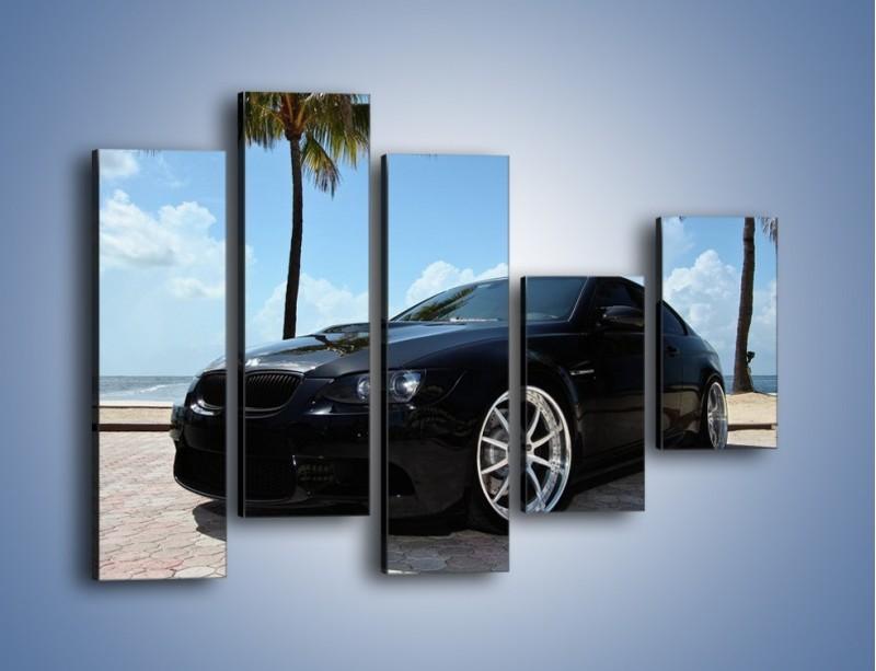 Obraz na płótnie – BMW M3 GTS – pięcioczęściowy TM095W4