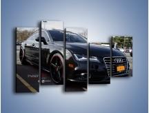 Obraz na płótnie – Audi A7 D2forged Wheels – pięcioczęściowy TM099W4