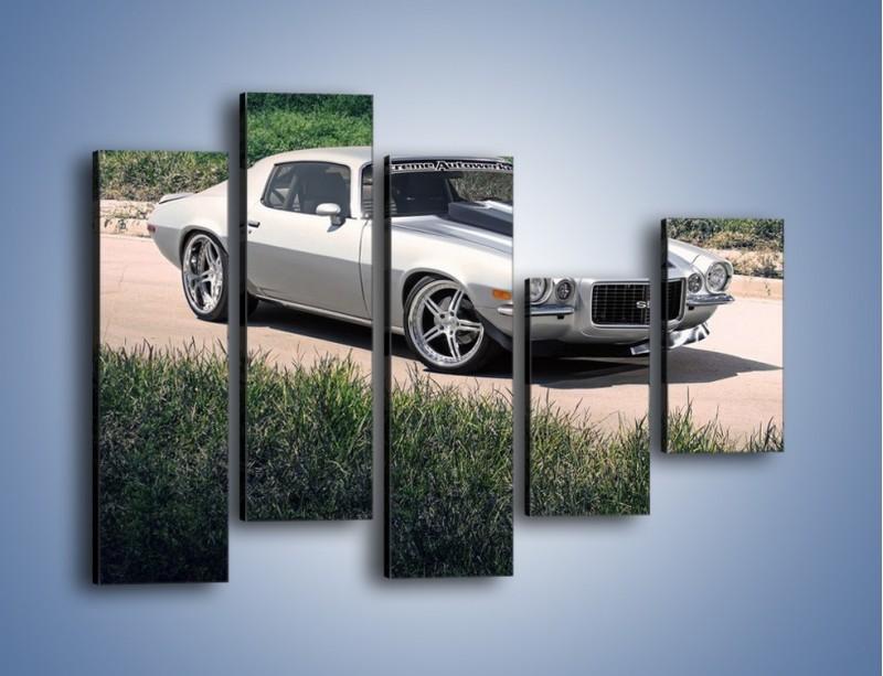 Obraz na płótnie – Chevrolet Camaro 1991 – pięcioczęściowy TM105W4