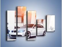 Obraz na płótnie – BMW 3 E90 – pięcioczęściowy TM112W4