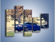 Obraz na płótnie – BMW M3 Coupe E110 – pięcioczęściowy TM114W4