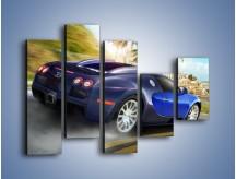 Obraz na płótnie – Bugatti Veyron – pięcioczęściowy TM123W4