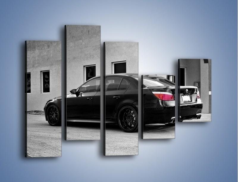 Obraz na płótnie – BMW M5 E78 – pięcioczęściowy TM135W4