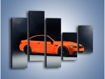 Obraz na płótnie – BMW M3 E92 Coupe Orange – pięcioczęściowy TM168W4