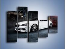 Obraz na płótnie – BMW M6 F13 Vossen Wheels – pięcioczęściowy TM169W4