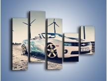 Obraz na płótnie – Chevrolet Camaro Cabrio – pięcioczęściowy TM173W4