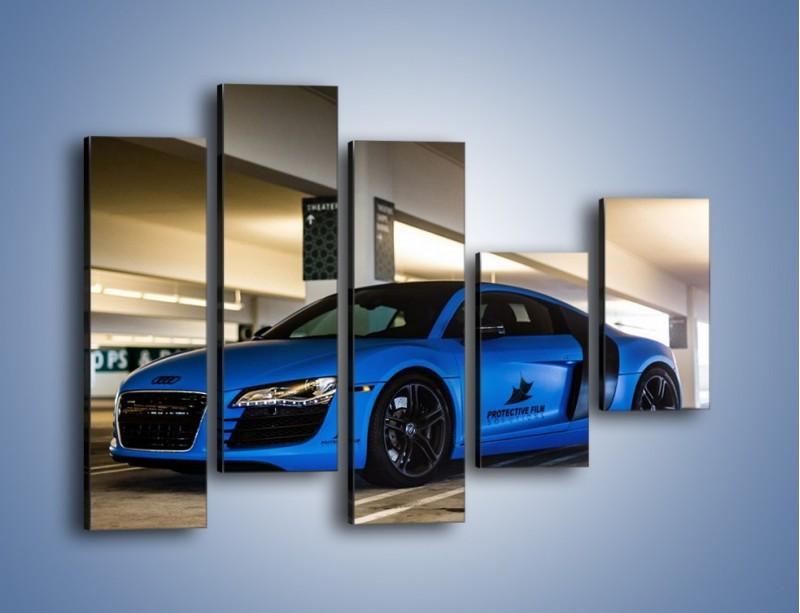 Obraz na płótnie – Audi R8 – pięcioczęściowy TM180W4