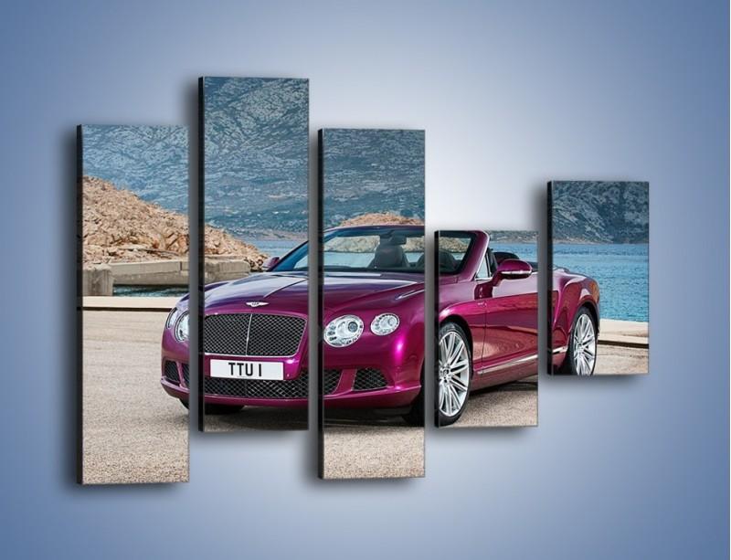 Obraz na płótnie – Bentley Continental Speed GT – pięcioczęściowy TM187W4