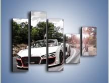 Obraz na płótnie – Audi R8 V10 Spyder – pięcioczęściowy TM209W4