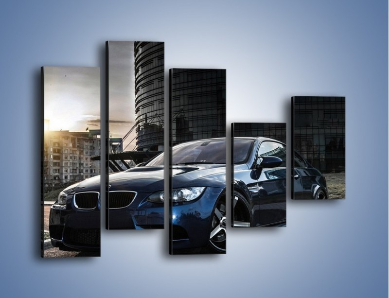 Obraz na płótnie – BMW E92 M3 – pięcioczęściowy TM213W4