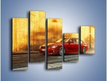 Obraz na płótnie – BMW 3 F47 – pięcioczęściowy TM235W4