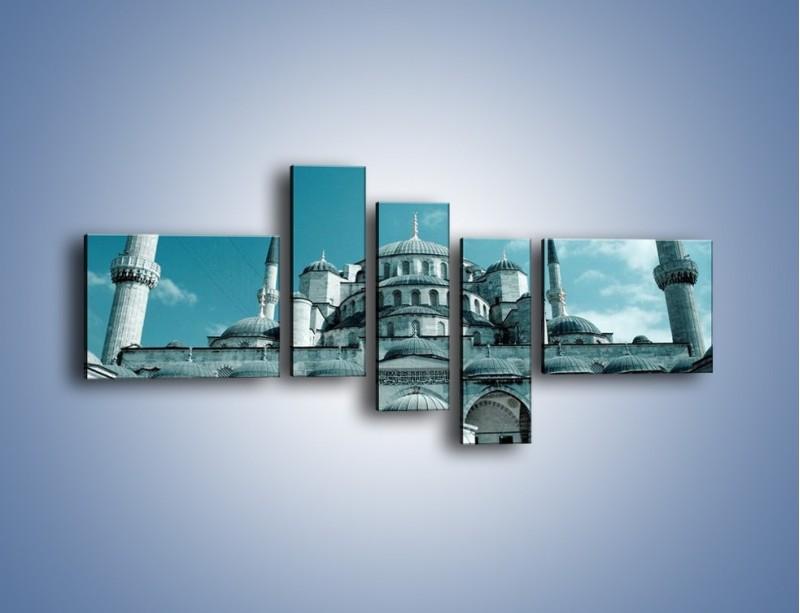 Obraz na płótnie – Taj Mahal – pięcioczęściowy AM175W5