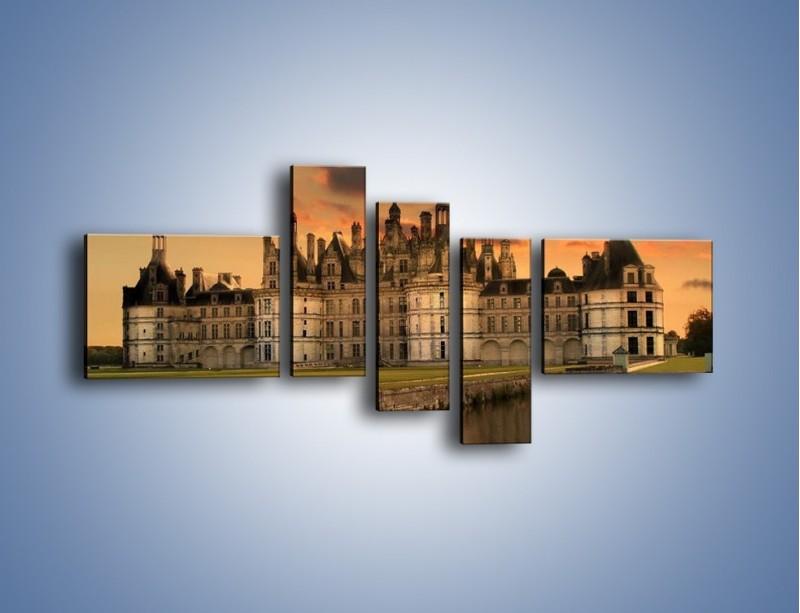 Obraz na płótnie – Stary zamek – pięcioczęściowy AM200W5