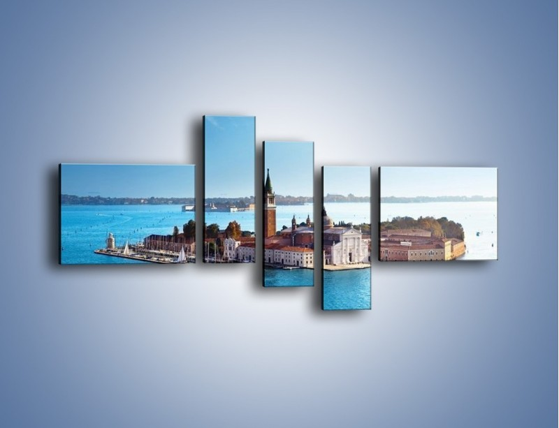 Obraz na płótnie – Wyspa San Giorgio Maggiore – pięcioczęściowy AM380W5