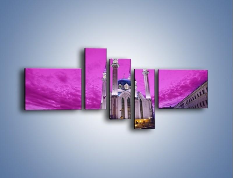 Obraz na płótnie – Meczet Kul Szarif – pięcioczęściowy AM642W5