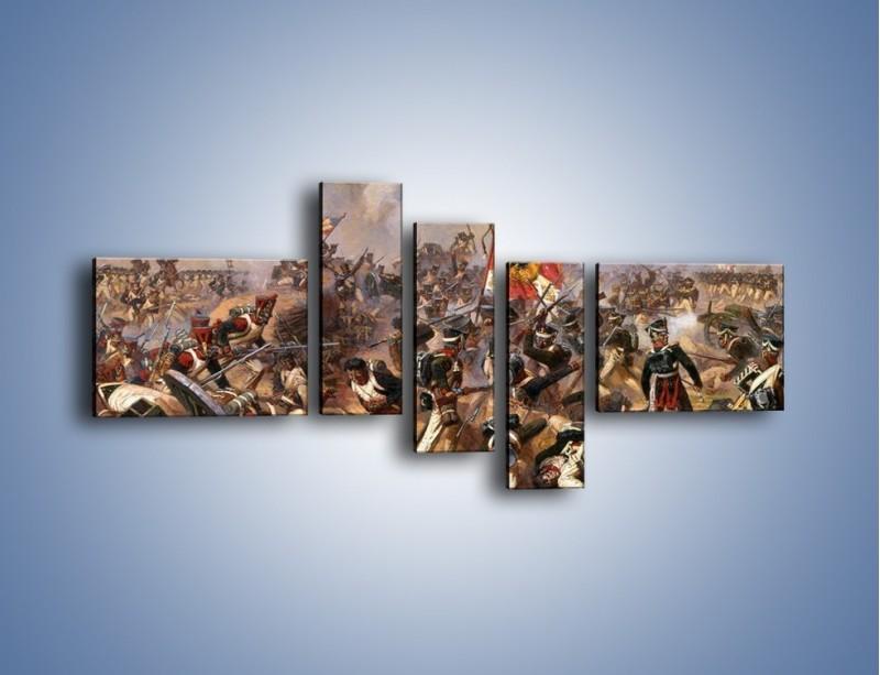 Obraz na płótnie – Wojna i jej skutki – pięcioczęściowy GR133W5
