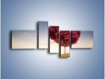 Obraz na płótnie – Drzewo pełne miłości – pięcioczęściowy GR537W5