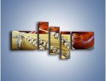 Obraz na płótnie – Chleb pszenno-kukurydziany – pięcioczęściowy JN090W5