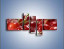Obraz na płótnie – Czereśnia rządzi w kuchni – pięcioczęściowy JN223W5