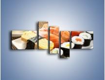 Obraz na płótnie – Azjatyckie posiłki – pięcioczęściowy JN355W5