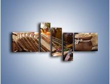 Obraz na płótnie – Chleb w roli głównej – pięcioczęściowy JN501W5