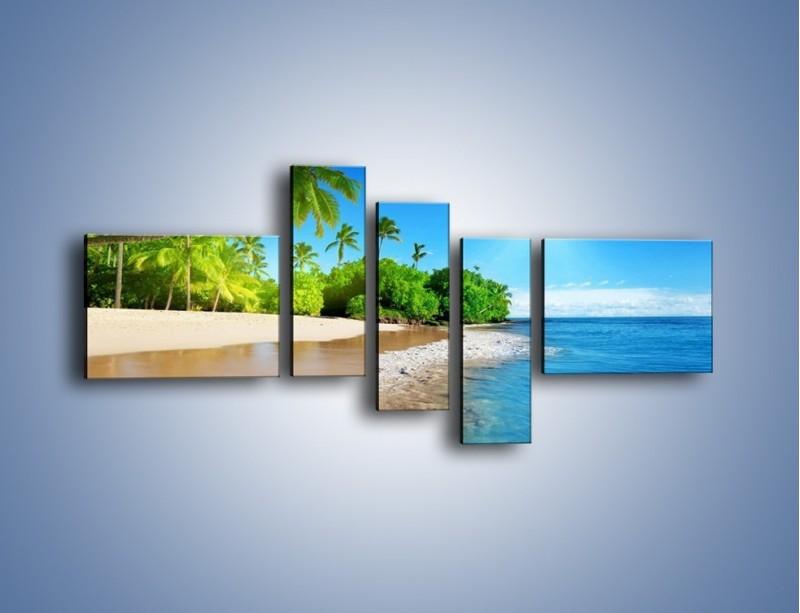 Obraz na płótnie – Bajeczne wakacyjne wspomnienia – pięcioczęściowy KN1110AW5