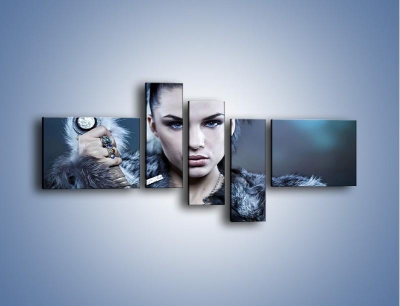 Obraz na płótnie – Kobieta spragniona zemsty – pięcioczęściowy L170W5