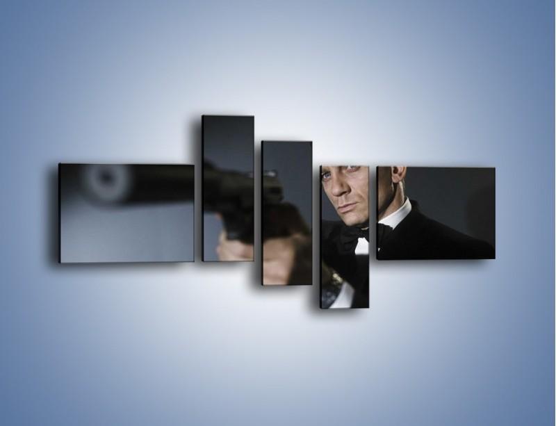 Obraz na płótnie – Bond. james bond – pięcioczęściowy L239W5