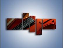 Obraz na płótnie – Instrument i muzyka poważna – pięcioczęściowy O025W5