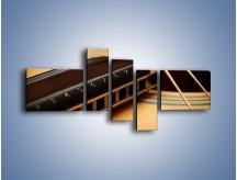 Obraz na płótnie – Instrumenty z drewna – pięcioczęściowy O108W5