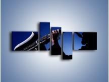 Obraz na płótnie – Koncert na saksofonie – pięcioczęściowy O110W5