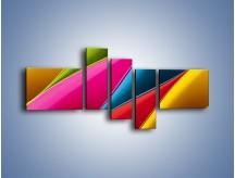 Obraz na płótnie – Idealna kolorowa kompozycja – pięcioczęściowy O219W5
