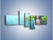 Obraz na płótnie – Idealny świat harmonii i spokoju – pięcioczęściowy O258W5