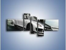 Obraz na płótnie – Driftujący Nissan GTR – pięcioczęściowy TM007W5