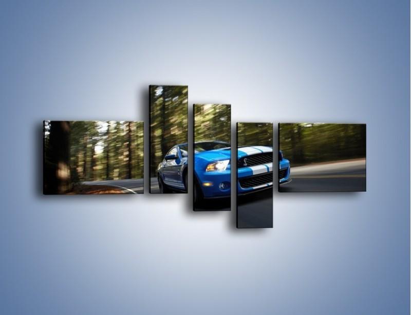 Obraz na płótnie – Ford Shelby GT500 – pięcioczęściowy TM039W5