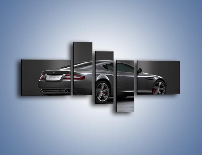 Obraz na płótnie – Aston Martin DB9 Coupe – pięcioczęściowy TM059W5