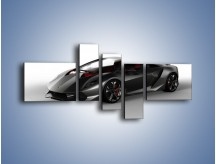 Obraz na płótnie – Lamborghini Sesto Elemento Concept – pięcioczęściowy TM060W5