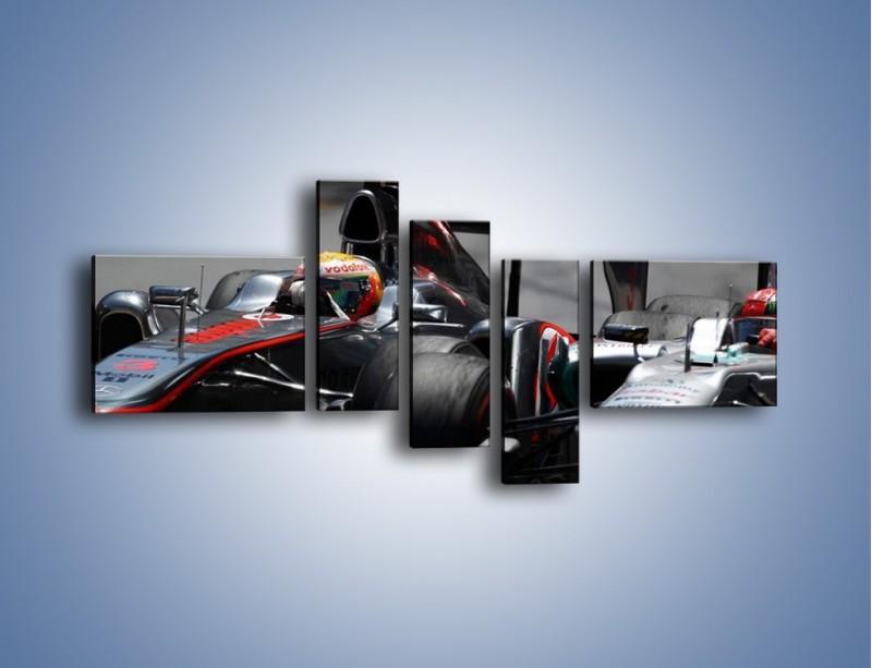 Obraz na płótnie – McLaren Mercedes Monaco GP – pięcioczęściowy TM076W5